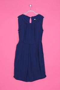 MARELLA - Seiden-Kleid mit Raffungen - M