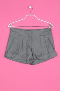 TOPSHOP - High Waist-Shorts mit Wolle - M