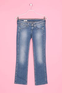 Pepe Jeans - Used Look-Jeans mit Stretch aus Baumwolle - S