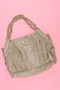 GUESS - Faux Leather-Hobo Bag/Tasche