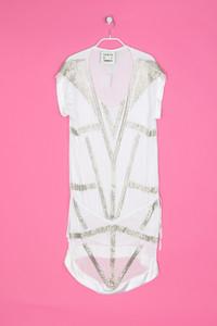 KAREN BY SIMONSEN - Kleid aus Viskose mit Perlen - L