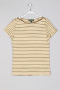 LAUREN RALPH LAUREN - Streifen-T-Shirt - S
