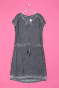 CECIL - Garment Dyed-Kleid mit Applikationen - S