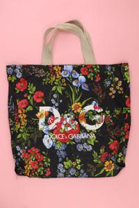 D&G DOLCE & GABBANA - Handtasche mit Blumen-Print